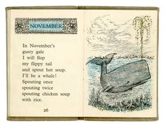 November - Maurice Sendak's Chicken Soup With Rice: