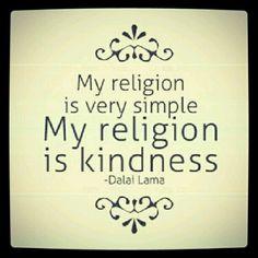 Simple..kindness :)