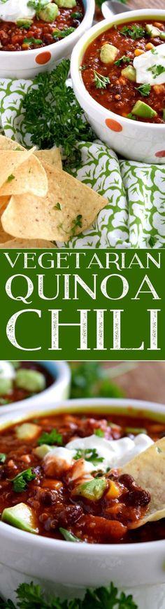 Vegetarian Quinoa Chili - Lord Byron's Kitchen