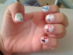 Second hand of One Direction nails