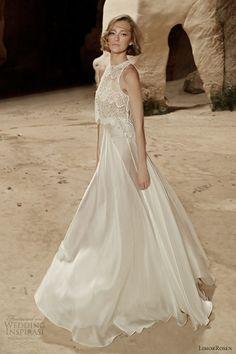 limor rosen bridal 2014 sleeveless wedding dress sara