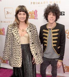 LP and Lauren Ruth Ward Photos Photos - Musicians Lauren Ruth Ward (L) and LP attend the Primary Wave 10th Annual Pre-Grammy Party at The London West Hollywood on February 14, 2016 in West Hollywood, California. - Primary Wave 10th Annual Pre-Grammy Party