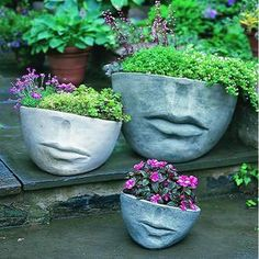 Faccia Contemporary Garden Planter