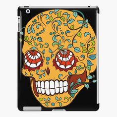 Promote | Redbubble Sugar Skull Design, Phone Cases, Phone Case