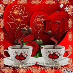 Good Morning Flowers Gif, Good Morning Gif, Good Morning Greetings, Good Morning Images, Good Morning Quotes, Beautiful Flowers Images, Beautiful Gif, Flower Images, Animated Heart