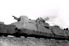 Een Duitse pantsertrein (archieffoto, circa 1942).