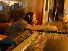Howard Butcher at Peace of Eden Recording Studio