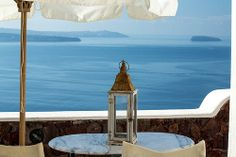 GREECE CHANNEL | #Santorini balcony, Delfini Villas Hotel, Oia http://www.greece-channel.com/