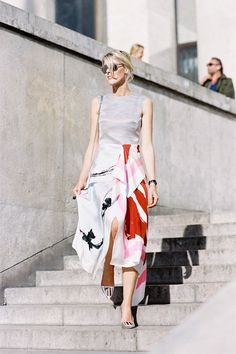 Vanessa Jackman: Paris Fashion Week SS 2015....Sofie