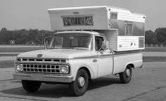 Camper ready Ford from the Factory