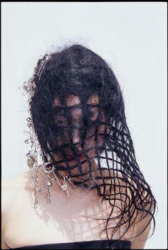 VEILED by KATSUYA KAMO    Hair and make-up elevated to an art form.