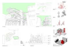Ctrl+Space - Architectural Competition - Istanbul Community Market Competition