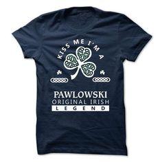 PAWLOWSKI - KISS ME I\M Team - #mom shirt #tee dress. CHECKOUT => https://www.sunfrog.com/Valentines/-PAWLOWSKI--KISS-ME-IM-Team.html?68278