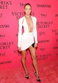 Dear Fashion Diaries: Candice Swanepoel @ 2013 VSFS After Party, Nov 13