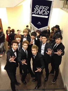 Super Junior = Sexiest Men EVER!!! :) Come visit kpopcity.net for the largest discount fashion store in the world!!