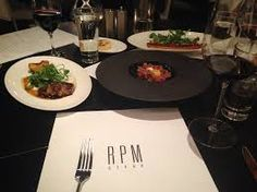 Dine at RPM Steak in Chicago