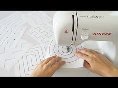Sewing Hacks, Sewing Tutorials, Sewing Projects, Embroidery Patterns, Quilt Patterns, Sewing Patterns, Sewing Class, Love Sewing, Crafts For Teens