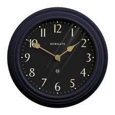 Buy the Pimlico Wall Clock - Petrol Blue from Newgate Clocks at Amara. Free shipping on orders over $150.00!