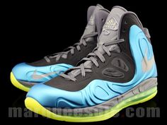 brand new 3cd45 b908f Nike Air Max Hyperposite - Blue Volt - Photo posted in Kicks   BX (Sneakers    Clothing)