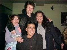 Jim Cuddy and me 2001 back stage