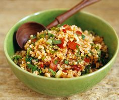 Salade de boulgour aux tomates