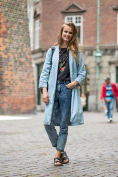New street style looks in straight from Copenhagen Fashion Week! See all the best looks here