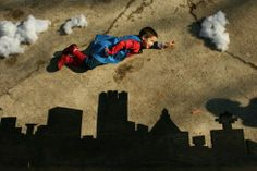Superboy in the sky