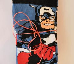 Para Hombre Marvel Super Héroes calcetines Captain America Nuevo Mens socks x 3