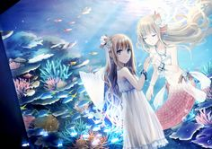 anime mermaid - Google Search