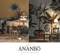 Ananbô: Papiers peints panoramiques Ananbô, élégance et ra...