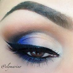 Peek a boo Blue – Idea Gallery - Makeup Geek