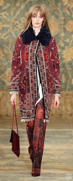 Tory Burch Fall 2015 Look 21 | www.toryburch.com/runway