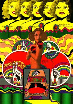 Japanese Poster: PB Grand Prix. Keiichi Tanaami. 1968