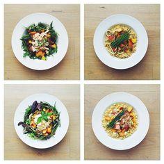 Peaches week. Chicken, vegan, vegetarian and salmon. What's your fave? #vegetarian #salad #happydesksalad #desklunch #desk #veg #nutrition #nutritionist #notsdadesklunch #fit #fitness #instafood #instasalad #feelgood #healthy #healthyfood #saladpride #saladlove #saladjam #healthnut #healthyfoods #healthylunch