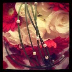Rose and gerbera brides bouquet
