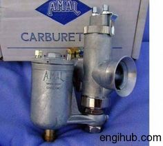 There are three importance types of carburetor available in market,Zenith Carburetor,Solex Carburetor,Amal Carburetor. Amal Carburetor working Motorcycle Engine, Sailing Ships, Motorcycles, Construction, Cars, Motorbikes, Building, Autos, Car