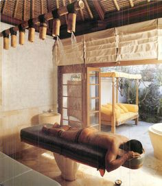 Your own homemade Thai outdoor spa.