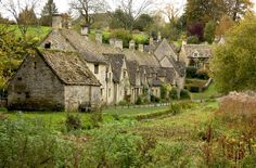 Bibury, England | 19 Truly Charming Places To See Before You Die (the most beautiful village in england)
