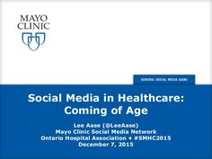 Social Media & Healthcare, the Mayo Clinic's Dec 2015 Slideshare ~ Ontario Hospital Association Conference in Toronto Apple Health Benefits, Apple Cider Benefits, Health Day, Health Logo, Apple Cider Vinegar Diet, Health Tips For Women, Health Lessons, Healthy Women, Logo Design Template