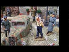Military Miniatures - German Occupied France 1944, toy soldiers