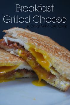 Breakfast Grilled Cheese on MyRecipeMagic.com