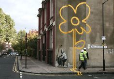 Banksy or how to Make Anonymous Graffiti Works Speak Out