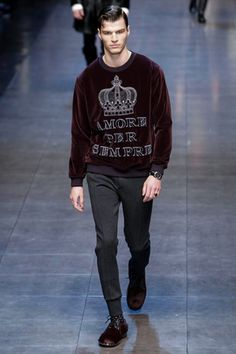 Dolce & Gabbana Menswear Fall Winter 2015 Milan - NOWFASHION