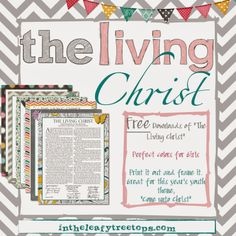 The Living Christ Proclamation FREE DOWNLOAD - Girl Versions