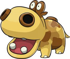 Hippopotas Pokemon Ranger Guardian Signs From The Official Artwork Set For On