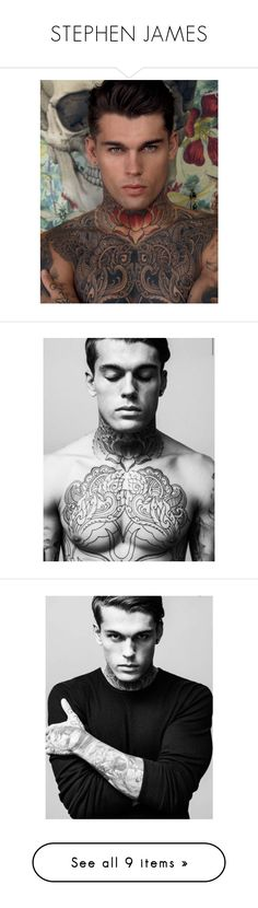 """STEPHEN JAMES"" by endearinq ❤ liked on Polyvore featuring stephen james"