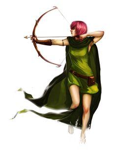 Clash of Clans Archer by Newsha-Ghasemi.deviantart.com on @deviantART