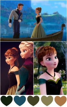5 Magical Color Combinations Inspired By Frozen | Pink Chocolate Break - Color Me Happy