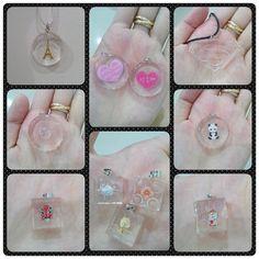 Kalung resin bening bentuk lego, tutup botol dan superman.. Handmade ^^ Bisa pilih warna tali.. Available pink, biru, hitam dan putih.. WA/Line : 0817.008.9396 #soynkla #handmade #craft #necklace #kalung #resin #bening #lego #superman #bottlecap #panda #love #cat #luck #japan #mask #japanmask #instapic #flower #clear #superb #eiffel #clock #jam #bunga #topeng
