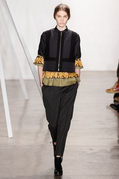 look 2 - Suno Fall 2013 Ready-to-Wear Collection Slideshow on Style.com